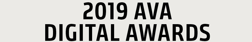 2019 AVA Digital Awards