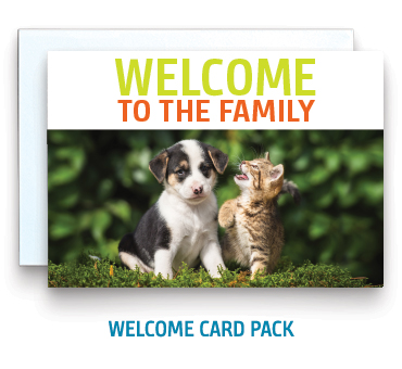 Welcome Card Pack