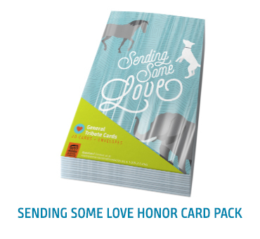 Sending Some Love Honor Card Pack