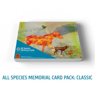 All Species Memorial Card Classic